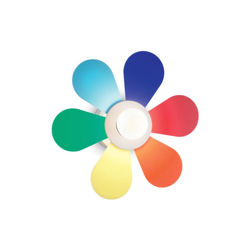 lampada fiore colorato per bambini