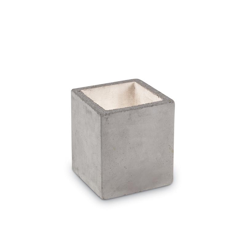 lampada finta candela in pietra