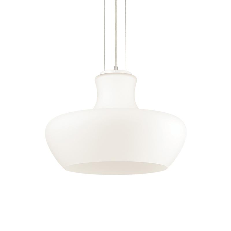 Lampada classica bianca da soffitto
