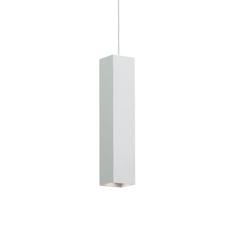 Lampada in sospensione stile contemporaneo bianco