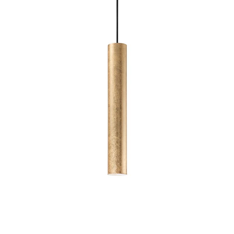 Lampada da soffitto tubo dorato