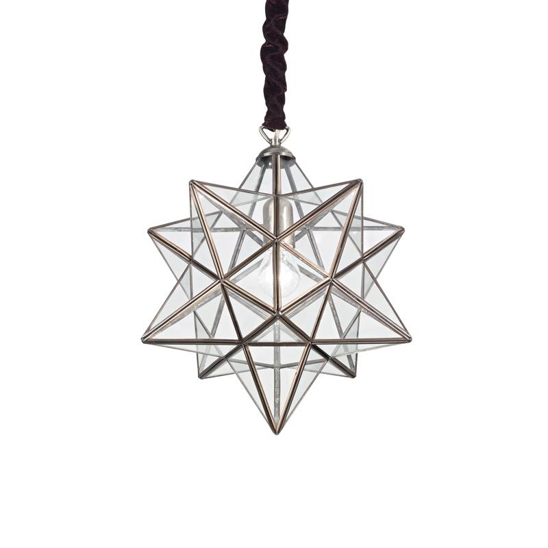 Lampada a soffitto a forma di stella