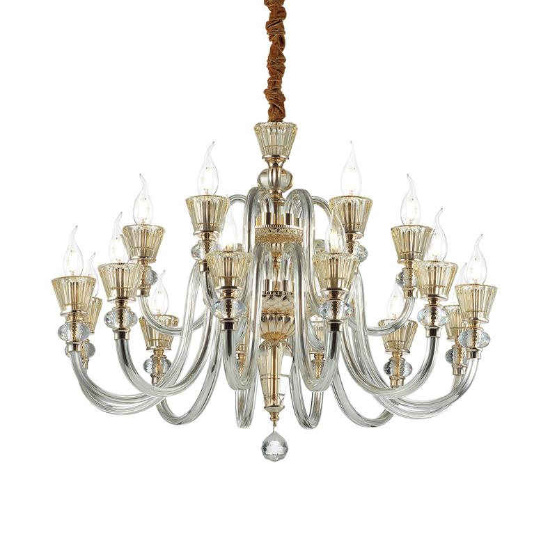 Stile classico lampadario finte candele