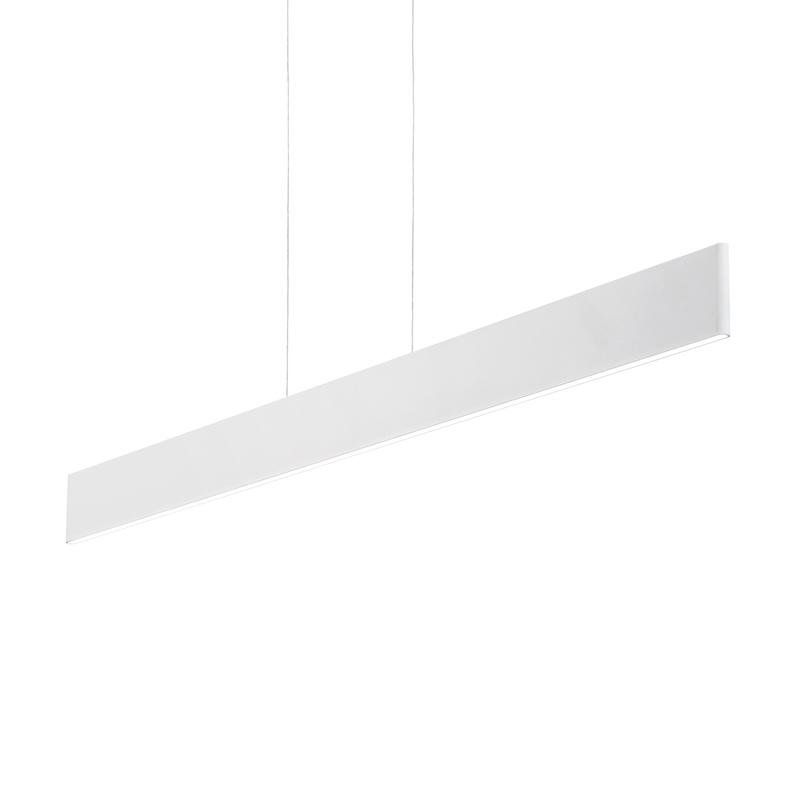 Minimalismo bianco - lampada da soffitto